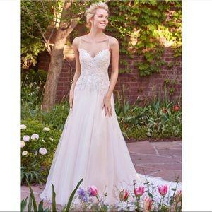 Beaded A Line Wedding Dress